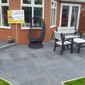 A customers domestic patio.